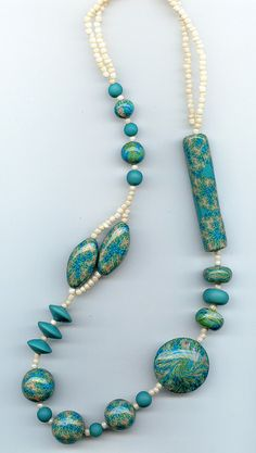 nice use of all the same bead, but in different shapes
