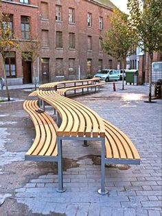 modern public picnic seating - Google Search