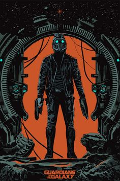 'Guardians of the Galaxy' Star-Lord poster