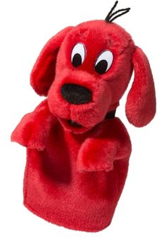 Clifford the Big Red Dog - Plush Hand Puppet By Douglas & Scholastic This cuddly, soft , 11 inch long Big Red Dog hand puppet is ready to take you on an adventure. Clifford's motto (on the PBS Kids ne