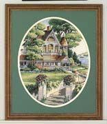 Lovely Victorian Home 01 - cross-stitch