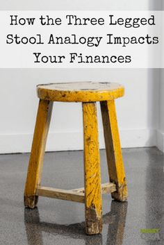 Is the three-legged stool analogy a myth? Should we beat ourselves up for not getting the best price on an item we buy? Maybe not. Here's how it affects your finances and what to do about it.
