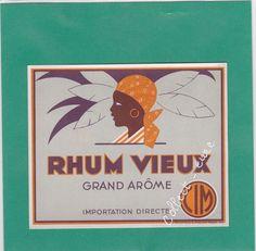R5 ETIQUETTE DE RHUM GRAND AROME CIM | eBay