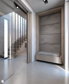 Dom w Warszawie - Hol / przedpokój, styl nowoczesny - zdjęcie od A2 STUDIO pracownia architektury