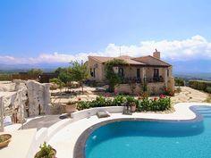 Rethymno villa rental - A unique-shaped swimming pool! Crystal Clear Water, Swimming Pools, Bbq, Villa, Luxury, Building, Unique, Beach, Outdoor Decor