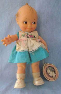 Cameo - Rubber Squeaker Kewpie Doll