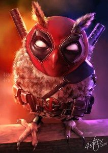 """I don't exactly know why, but artist 4steex woke up one day, and decided she needed to illustrate The Avengers as owls. I'm glad she did, though, because """"The Owlvengers"""" is…"""