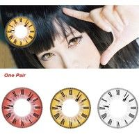 Wish   Color Contact Lenses Colored Contacts Colored Eye Lens 1 Pair