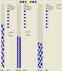 . Bead Crochet Patterns, Bead Crochet Rope, Loom Patterns, Beading Patterns, Knit Crochet, Crochet Beaded Bracelets, Beaded Jewelry, Crochet Necklace, Beading Projects