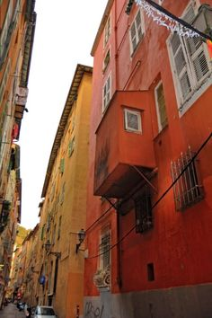 Old town of Nice images
