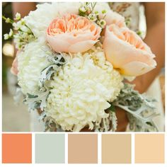 Exceptional Sneak Peak // Possible Wedding Colors