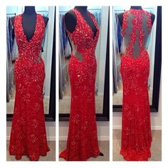 Want to make prom a memorable night? Shine bright in this new gown by Jovani. Style 93141. Available in Red, Blush and Black. mia bella couture. California Glam. jovani. jovani fashions. prom. prom dress. prom 2015. prom 2k15. red dress. stand out. head turner. one of a kind. wow factor. love it.