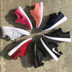 Laufschuhe 2017 Nike roshe two running shose Max Orange Deep Night White Black 844656 800 UK Trainer
