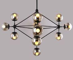 Modern Glass Chandeliers Jason Miller MODO Chandelier Living Room/dining Room LED Pendant Lamp Designer DNA 110V-240V, $240.84 | DHgate.com