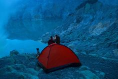 Close to the Ijen Crater