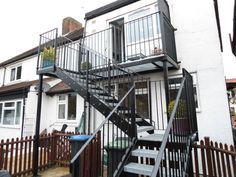 Rear Access Staircase Fabrication London