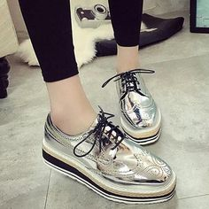 Check out our new design and all the wonderful accessories!! 2017 Spring New B... http://designsbyzuedi.myshopify.com/products/2017-spring-new-brogue-casual-shoes-patent-leather-platform-women-shoes-glitter-fashion-comfortable-flats-lace-up-wsn93?utm_campaign=social_autopilot&utm_source=pin&utm_medium=pin