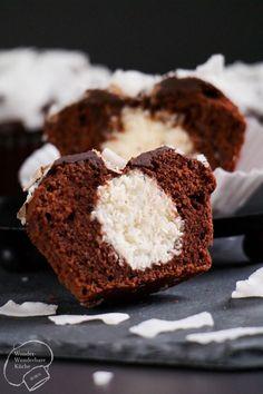 Wonder Wunderbare Küche: Schokoladen-Kokos-Muffins mit Überraschung