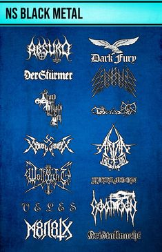 Metal Evolution, Black Metal, Heavy Metal, Chaos Lord, Extreme Metal, Hessian, Metal Bands, Music Bands, Metal Art