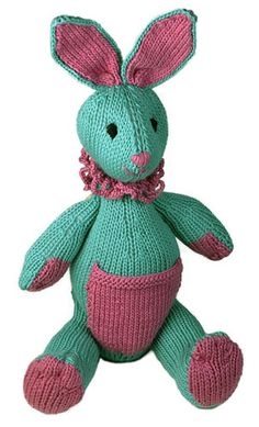 Bunny Toy ~ Free Knitting Pattern