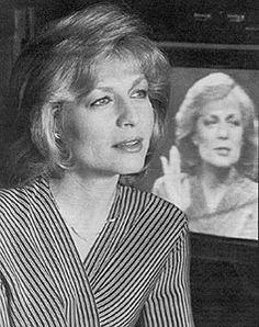Jessica Savitch. 2/1/1947-10/23/1983   R.I.P.   Pinterest ...