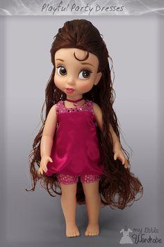 Disney Animator Clothes Pink puff dress por MyLittleWardrobeWear