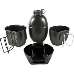 Sistema De Coccion Crusader BCB 4 Piezas Negro PTFE