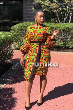 Looking for the best kitenge designs in Africa? See images of kitenge dresses and skirts, African outfits for couples, men's and baby boy ankara styles. Latest Ankara Dresses, Latest African Fashion Dresses, African Print Dresses, African Dresses For Women, African Print Fashion, African Attire, African Women, Nigerian Fashion, African Clothes