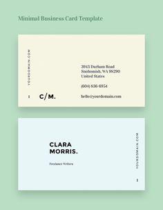 Tarjetas de presentación #representación #tarjetas