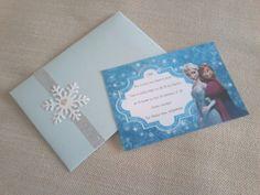 Convite Frozen!