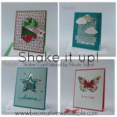 she offers a tutorial you can buy, pretty examples here- Shaker Tutorial Collage