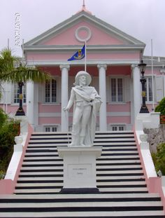 Governor's Mansion - Nassau - Bahamas - we drove by when we were on a tour thru Nassau - we stayed at an all inclusive resort