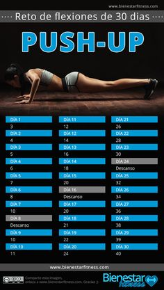 reto fitness push up