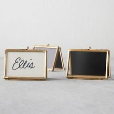 c81c484bb Place Card Holder - Antique Gold - Hearth   Hand with Magnolia