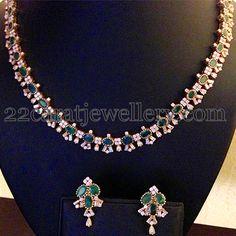 41 Gms Simple Diamond Set
