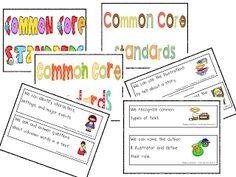 Mrs. Wills Kindergarten: Common Core Standards