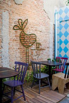 Flaming & design: Sofa Cafe w Sao Paulo....