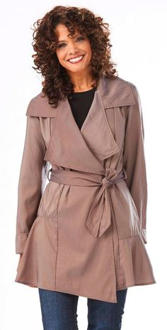 Stylish Spring Coat! #MadeinUSA www.nortonsusa.com