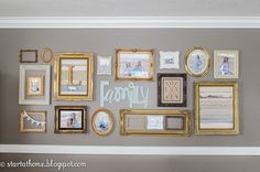 Gold+Frame+Gallery+Wall