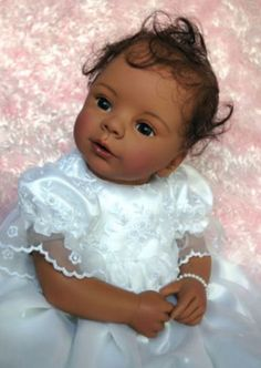"""Limited Edition Laura Tuzio-Ross Masterpiece Dolls """"My Little Blessing AA"""""""