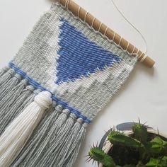 Weaving, Tapestry, Instagram Posts, Diy, Patterns, Inspiration, Decor, Fabrics, Tejidos