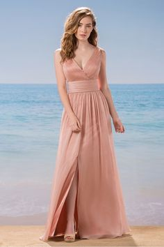Belsoie Style L184011, Pwach, Sz. 10, $248 - Available at Debra's Bridal Shop at The Avenues, 9365 Philips Hwy., Jacksonville, FL 32256, (904) 519-9900. Dresses available in various colors, styles and sizes. Call us for your consultant appointment.