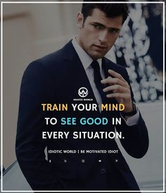 See Good in every Situation -- For More Quotes Follow @idiotic.world -- #money #motivation #success #cash #wealth #grind #lifestyle #business #entrepreneur #luxury #moneymaker #work #successful #hardwork #life #hardworkpaysoff #businessman #passion #millionaire #love #networkmarketing #businessowner #motivational #desire #entrepreneurship #stacks #entrepreneurs #smile #idiotic_world #instagood