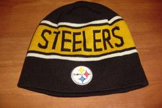 NWT Pittsburgh Steelers Adult Size Knit Beanie