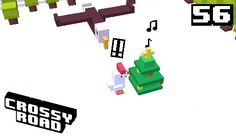 If u know the game crossy road use the festive chicken and when u reach a field with a Christmas tree that has music coming out of it then stop there and wait for eagle... then u get another character... GIFTY!!!