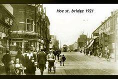 Hoe st bridge Walthamstow in 1921 Alan Russell (@soxgnasher) on Twitter London Boroughs, London Fields, Hoe, Bridge, Photographs, Street View, Memories, History, Twitter