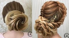 Top 10 Amazing Hair Transformations Beautiful Wedding Hairstyles Compi...