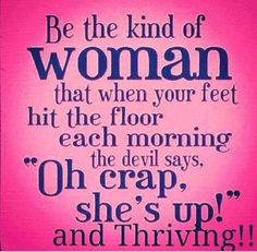 Who's ready to own their day? Thrive with me! Energy through the roof!   www.TeamThatcher.le-vel.com