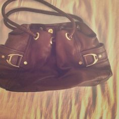 Cole Haan handbag Brown leather Cole Haan purse w/dust bag. Excellent used condition. Cole Haan Bags