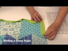 Terry's Tips: How to Bind Any Angle - YouTube